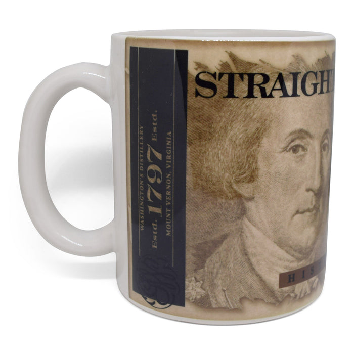 GW Distillery Straight Rye Whiskey Mug - The Shops at Mount Vernon - The Shops at Mount Vernon