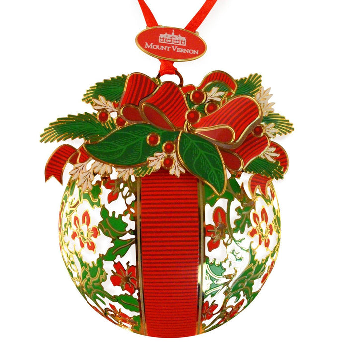 Mount Vernon Kissing Ball Ornament - DESIGN MASTER ASSOCIATES - The Shops at Mount Vernon