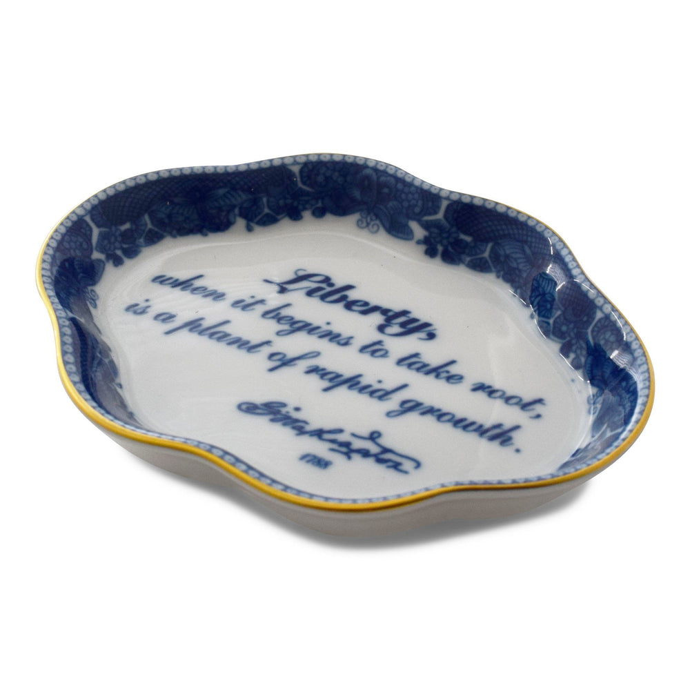 Mottahedeh Liberty Decorative Dish - MOTTAHEDEH & COMPANY, INC - The Shops at Mount Vernon