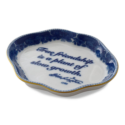 Mottahedeh Friendship Decorative Dish