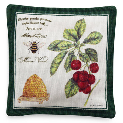 Bee and Cherries Spiced Mug Mat