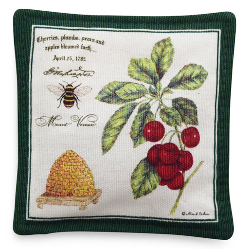 Bee and Cherries Spiced Mug Mat - The Shops at Mount Vernon - The Shops at Mount Vernon