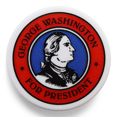 George Washington for President Campaign Pin