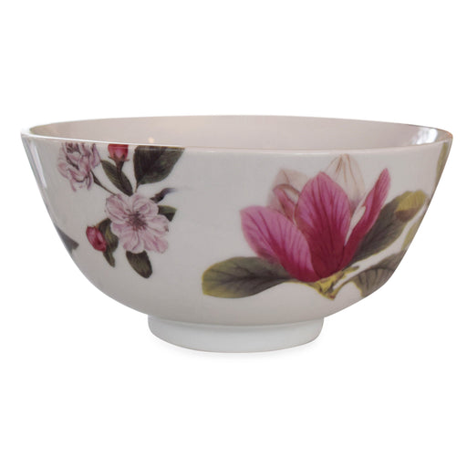 Magnolia Serving Porcelain Bowl - The Shops at Mount Vernon - The Shops at Mount Vernon