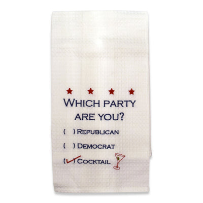 Which Party Are You? Towel