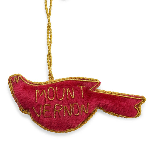 Mount Vernon Red Cardinal Ornament - ST NICOLAS LTD. - The Shops at Mount Vernon