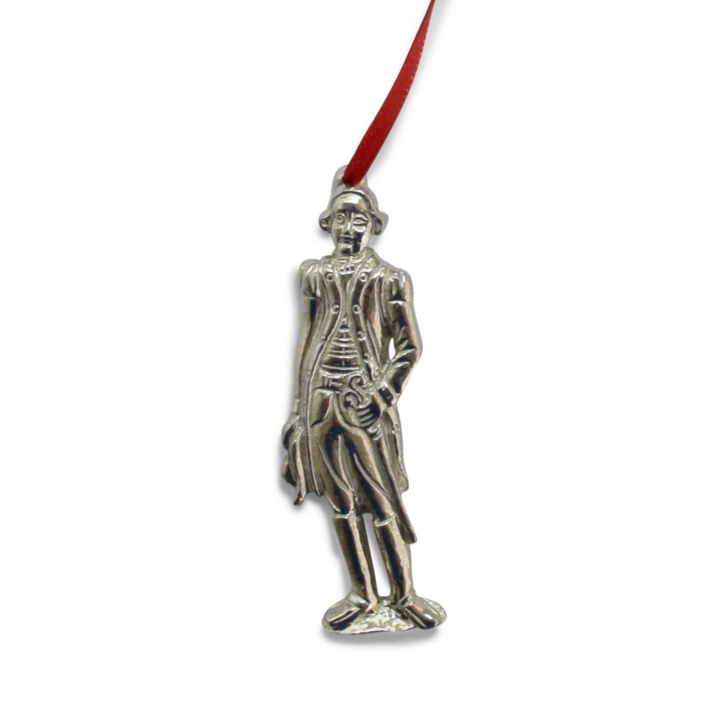 General George Washington Pewter Ornament