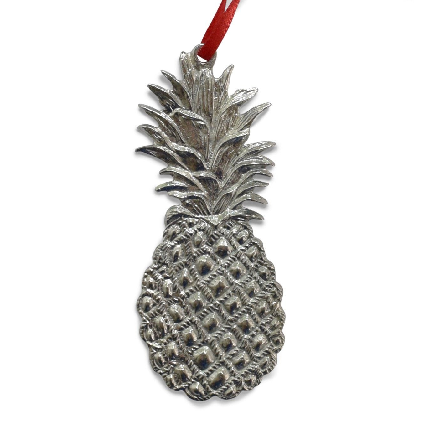 Pewter Pineapple Ornament