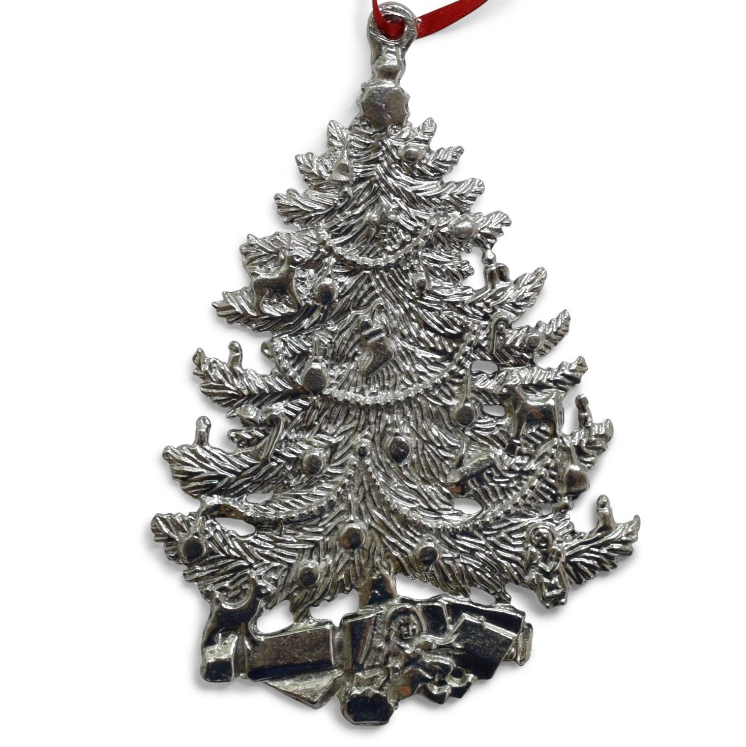 Pewter Christmas Tree Ornament