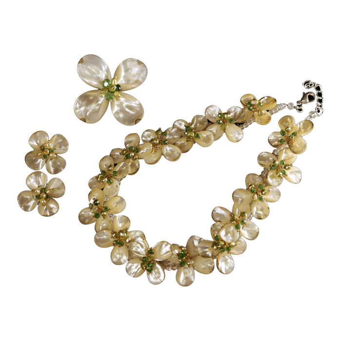Dogwood Necklace - Valerie Sanson - The Shops at Mount Vernon