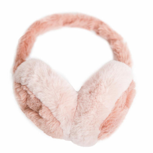 Pink Chinchilla Faux Fur Earmuff - TOP IT OFF - The Shops at Mount Vernon