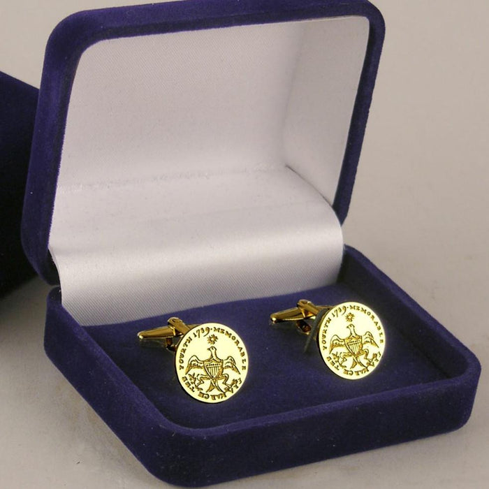 GW Eagle Cufflinks - The Shops at Mount Vernon - The Shops at Mount Vernon