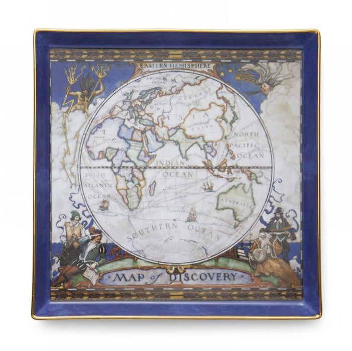 Map of Discovery East Canapé Plate - MOTTAHEDEH & COMPANY, INC - The Shops at Mount Vernon