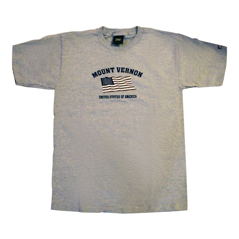 Mount Vernon Flag T-Shirt - PRAIRIE MOUNTAIN - The Shops at Mount Vernon