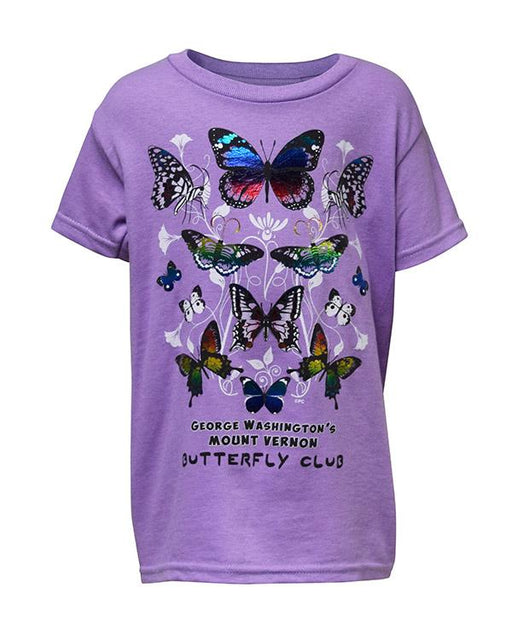 Mount Vernon Butterfly Club Child's T-Shirt - The Shops at Mount Vernon - The Shops at Mount Vernon