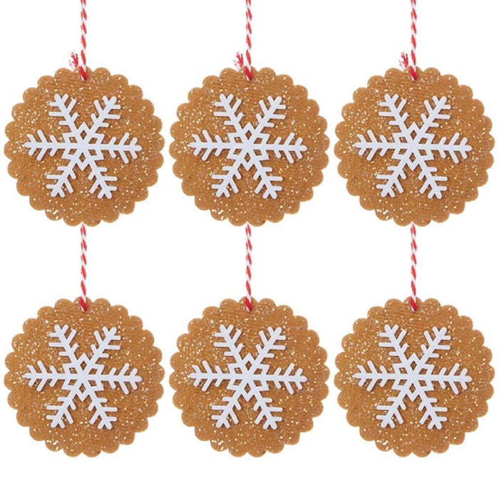 Gingerbread Cookie Ornament Set - RAZ IMPORTS INC - The Shops at Mount Vernon