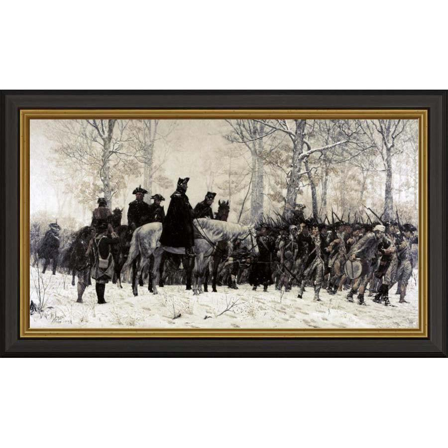 Washington at Valley Forge by Trego: Small Edition - BENTLEY GLOBAL ARTS GROUP - The Shops at Mount Vernon