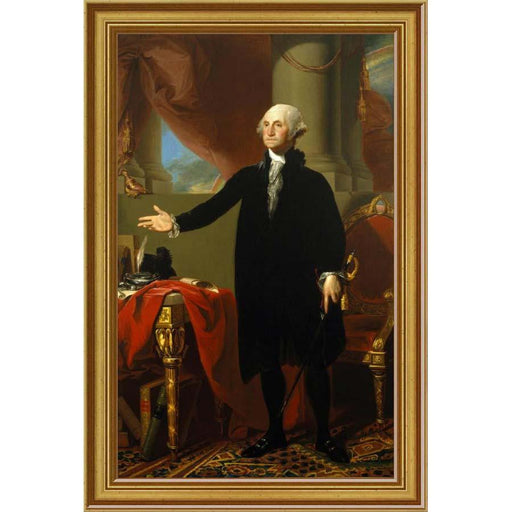 George Washington Lansdowne Portrait Print - BENTLEY GLOBAL ARTS GROUP - The Shops at Mount Vernon