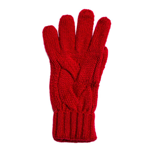 Cranberry Harlow Gloves - TOP IT OFF - The Shops at Mount Vernon