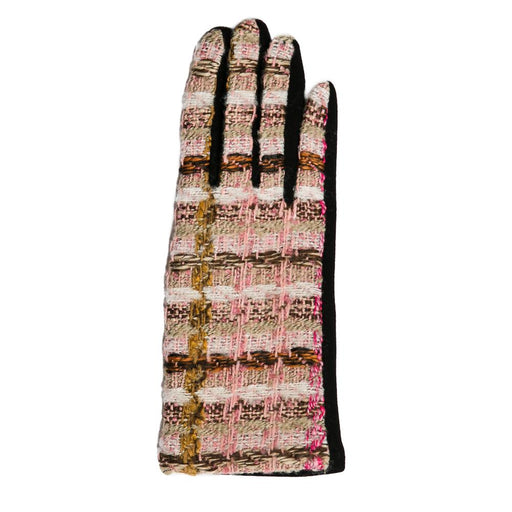 Pink Plaid Mabel Gloves - TOP IT OFF - The Shops at Mount Vernon