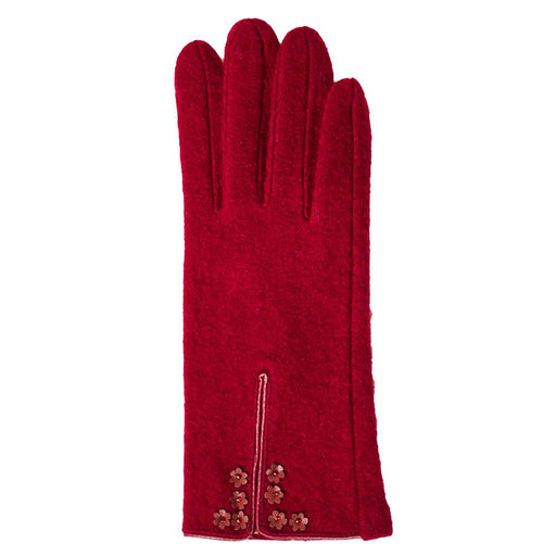 Dark Red Josie Glove - TOP IT OFF - The Shops at Mount Vernon