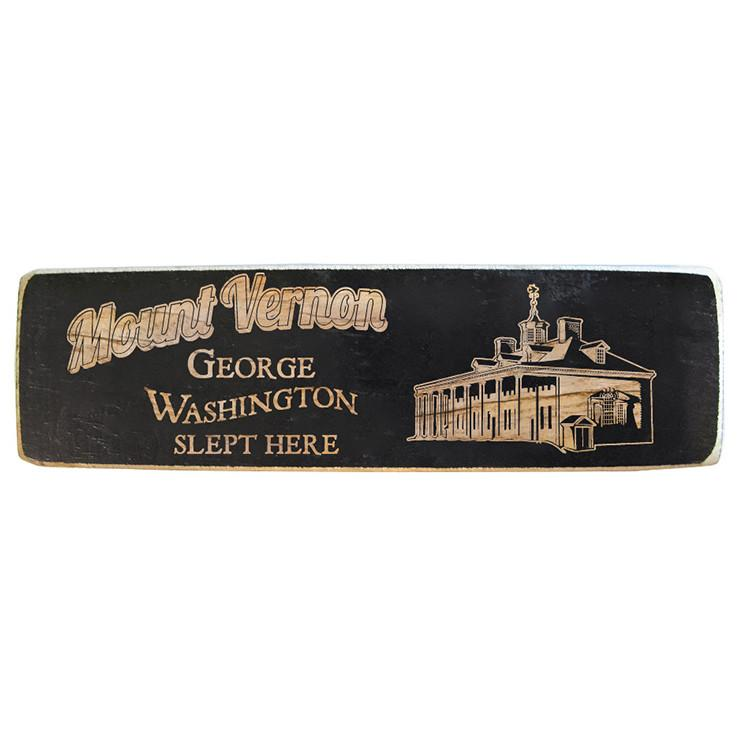George Washington Slept Here Magnet - The Shops at Mount Vernon - The Shops at Mount Vernon