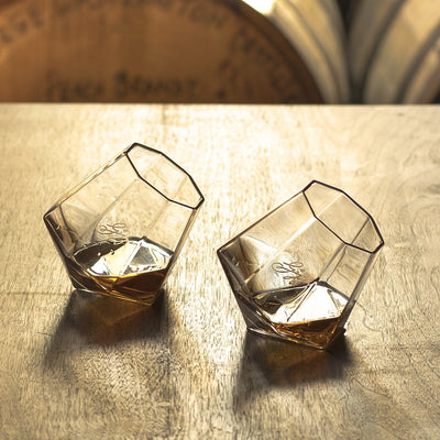 Boxed Set of 2 Crystal Tasting Glasses