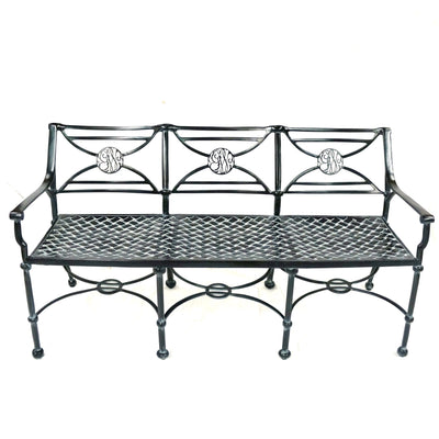 George Washington Cypher Triple Garden Bench