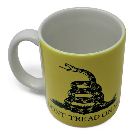 Don't Tread on Me Mug - AMERICANA SOUVENIRS GIFTS - The Shops at Mount Vernon