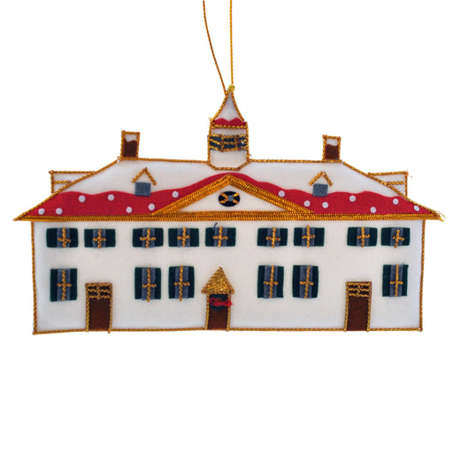 Mount Vernon in Winter Ornament - ST NICOLAS LTD. - The Shops at Mount Vernon