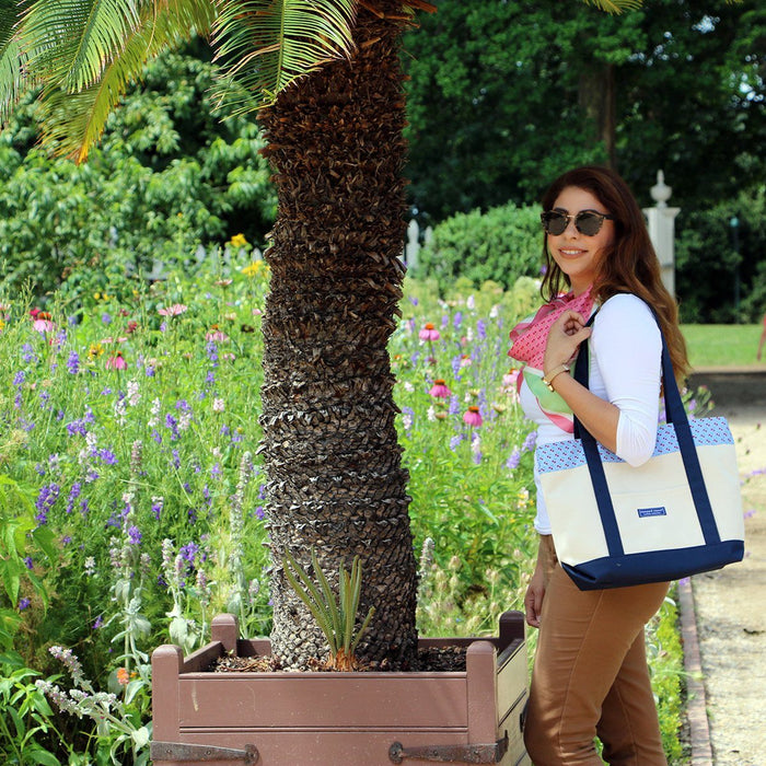 Vineyard Vines Classic Cherries Tote - The Shops at Mount Vernon - The Shops at Mount Vernon
