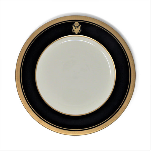 Pickard China - Great Seal Blue and Gold Salad Plate - Pickard China - The Shops at Mount Vernon