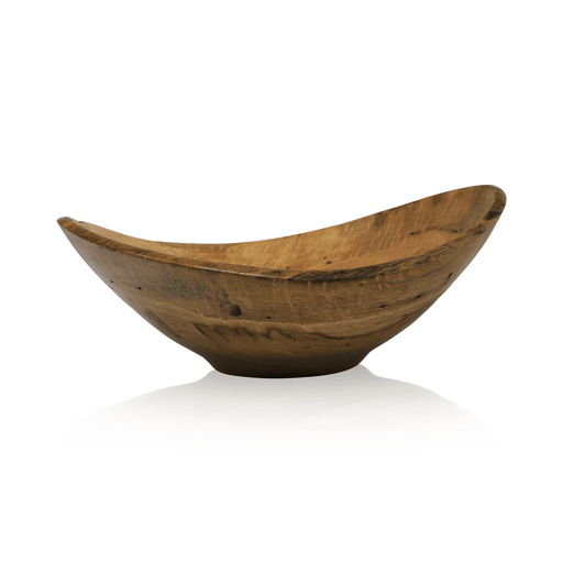 Historic White Oak Bowl #16 - DOUG DILL - The Shops at Mount Vernon