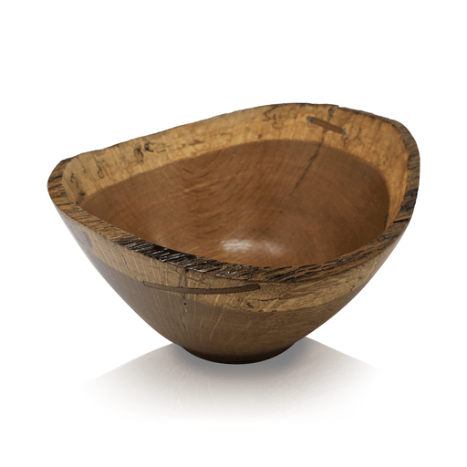 Historic White Oak Bowl #234 - DOUG DILL - The Shops at Mount Vernon