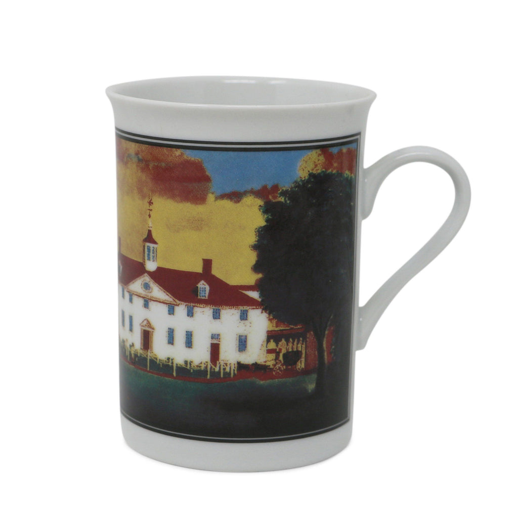 Mansion 1792 West Front View China Mug
