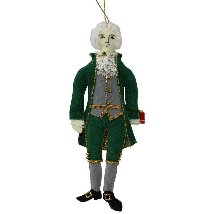 Thomas Jefferson Ornament - ST NICOLAS LTD. - The Shops at Mount Vernon