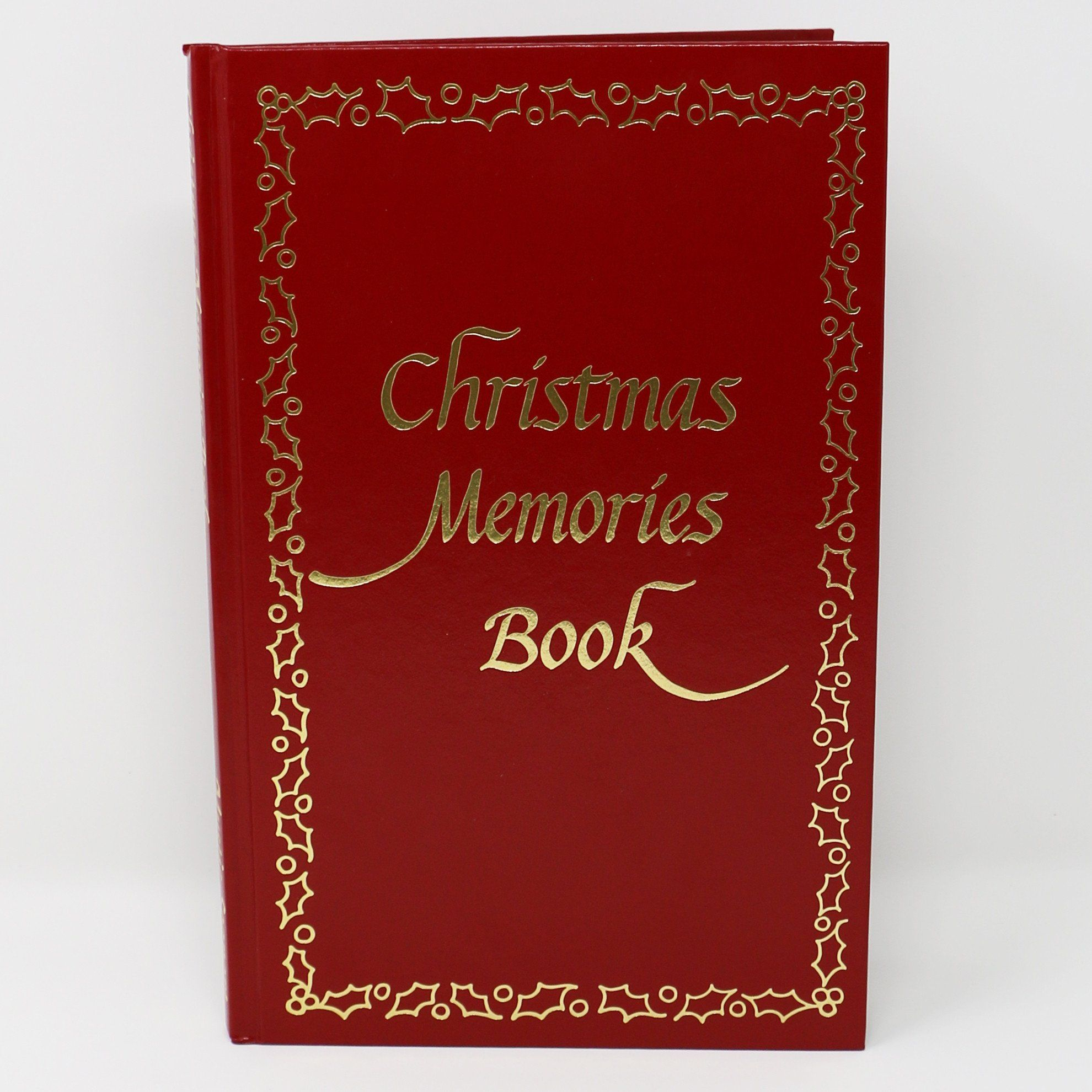 Christmas Memories Book, Leatherette Volume