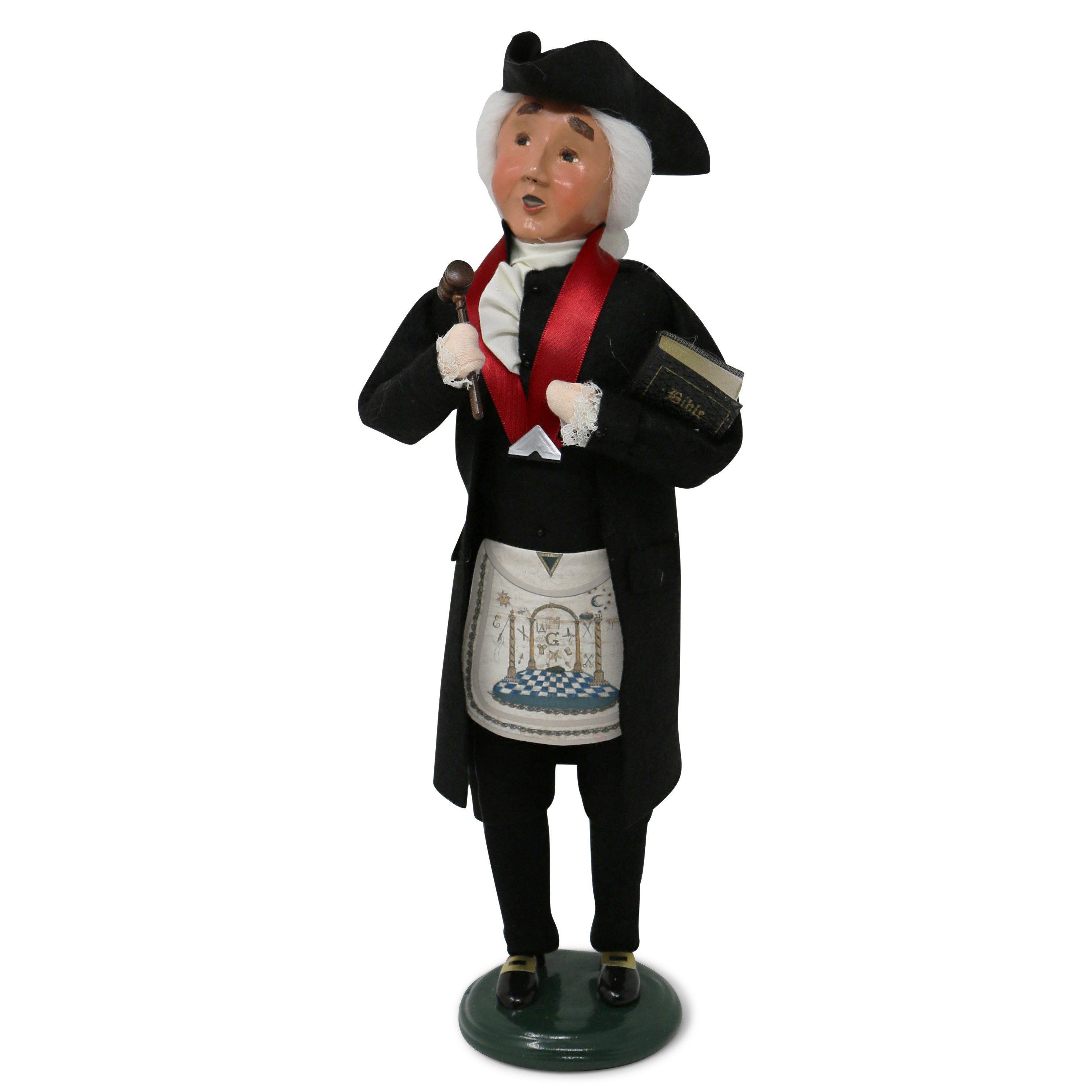 George Washington the Mason Caroler