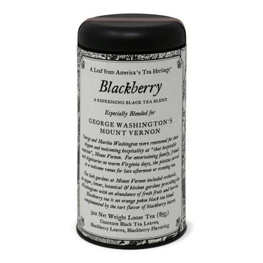 Blackberry Black Tea - OLIVER PLUFF & CO. - The Shops at Mount Vernon