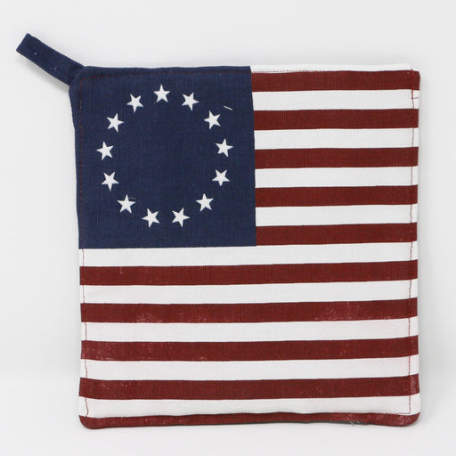 Betsy Ross Flag Potholder - ALICE'S COUNTRY COTTAGE - The Shops at Mount Vernon