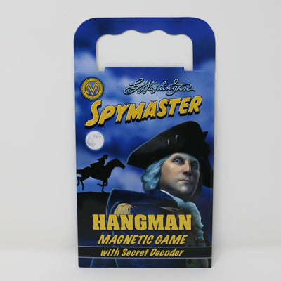 George Washington Spymaster Hangman Magnetic Game: Originally $9.95
