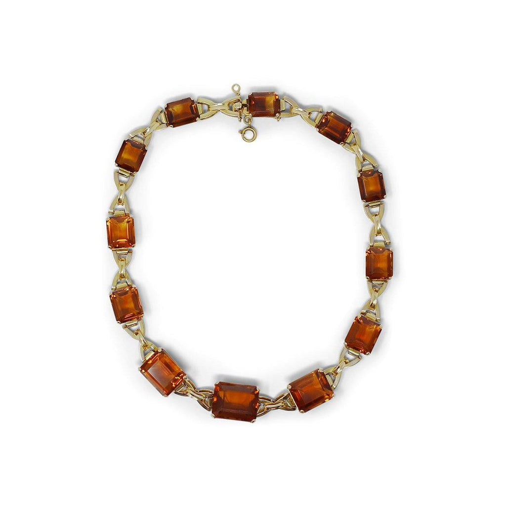 Citrine Choker Necklace