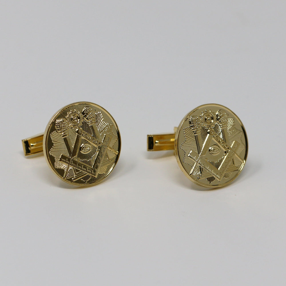 Masonic Centennial Cufflinks - The Shops at Mount Vernon - The Shops at Mount Vernon