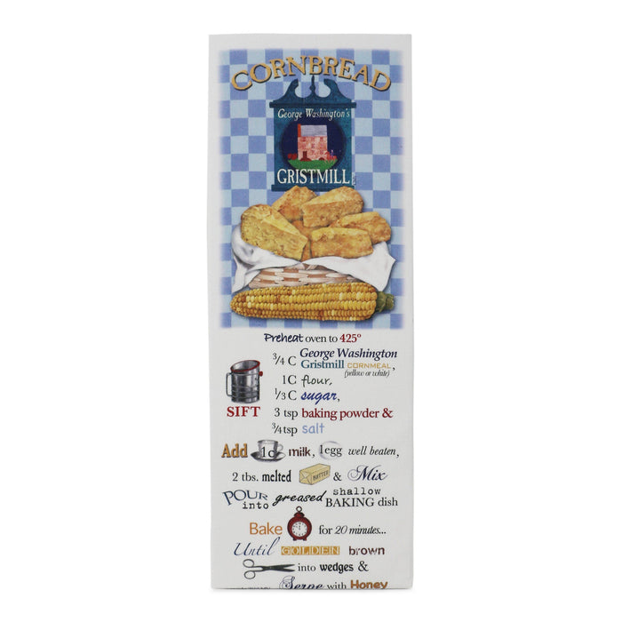 Cornbread Recipe Flour Sack Towel - The Shops at Mount Vernon - The Shops at Mount Vernon