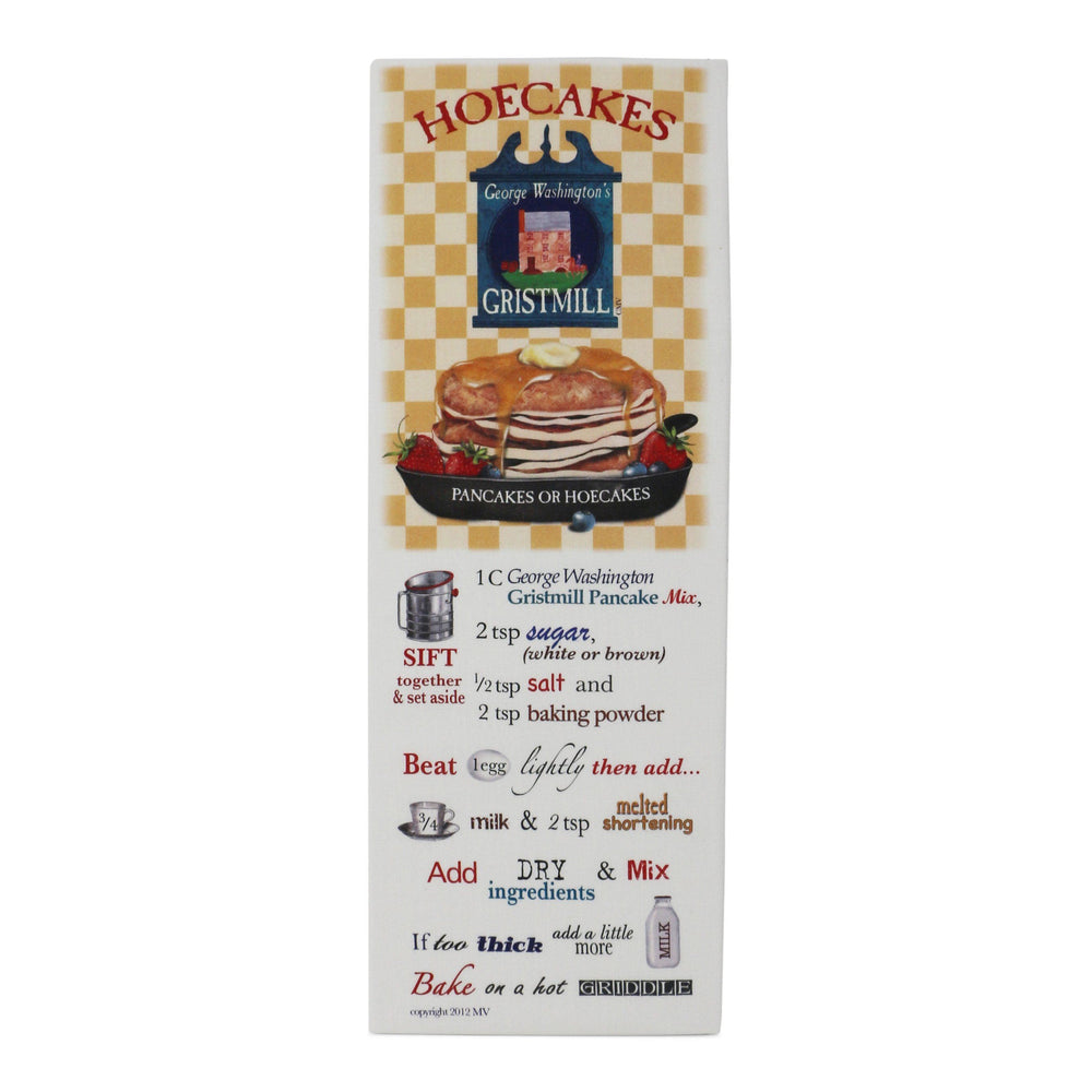 Hoecake Recipe Flour Sack Towel - The Shops at Mount Vernon - The Shops at Mount Vernon