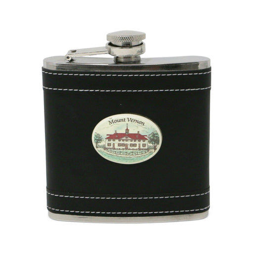 Mount Vernon Black Flask - The Shops at Mount Vernon - The Shops at Mount Vernon