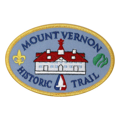 Historic Mount Vernon Scout Trail Patch