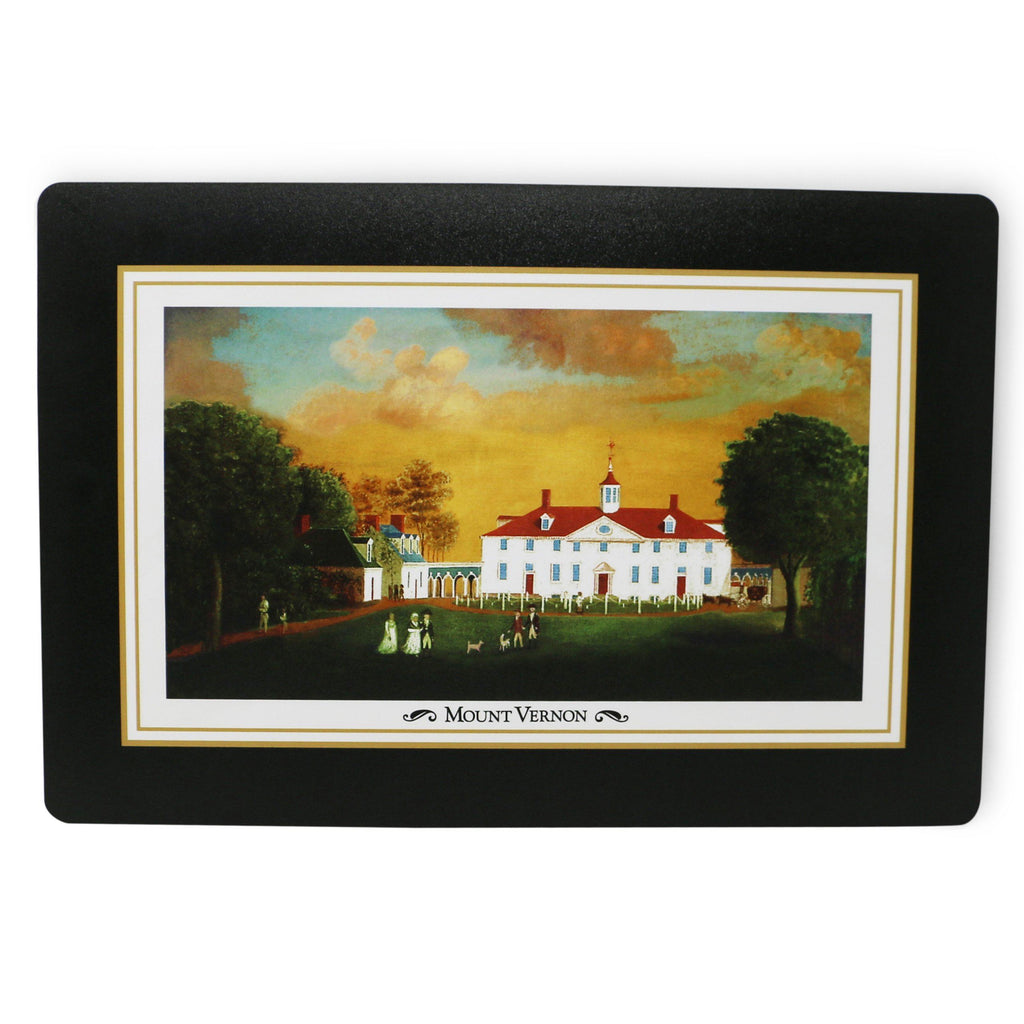 Mount Vernon 1792 Set of Two Placemats