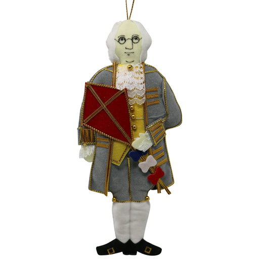 Benjamin Franklin Ornament - ST NICOLAS LTD. - The Shops at Mount Vernon