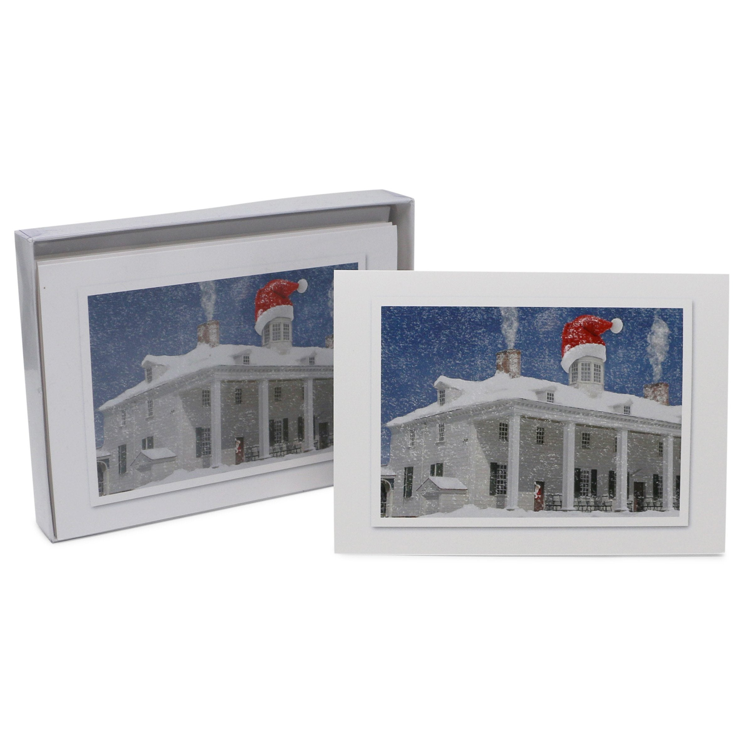 Mount Vernon East Front Mansion Holiday Cards